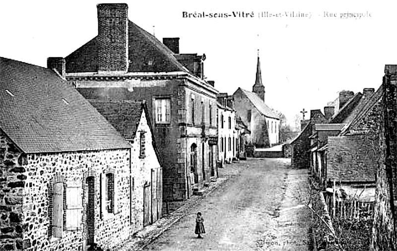 Bréal-sous-Vitré - Rue principale
